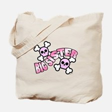 Punk Skulls Big Sister Tote Bag