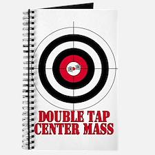 Bullseye Target Gun Safety Journal
