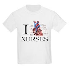 I heart Nurses T-Shirt