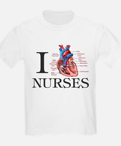 I heart Nurses T-Shirt