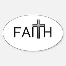 Faith Oval Decal