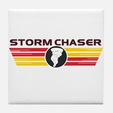 Storm Chasers Logo Bar Tile Coaster