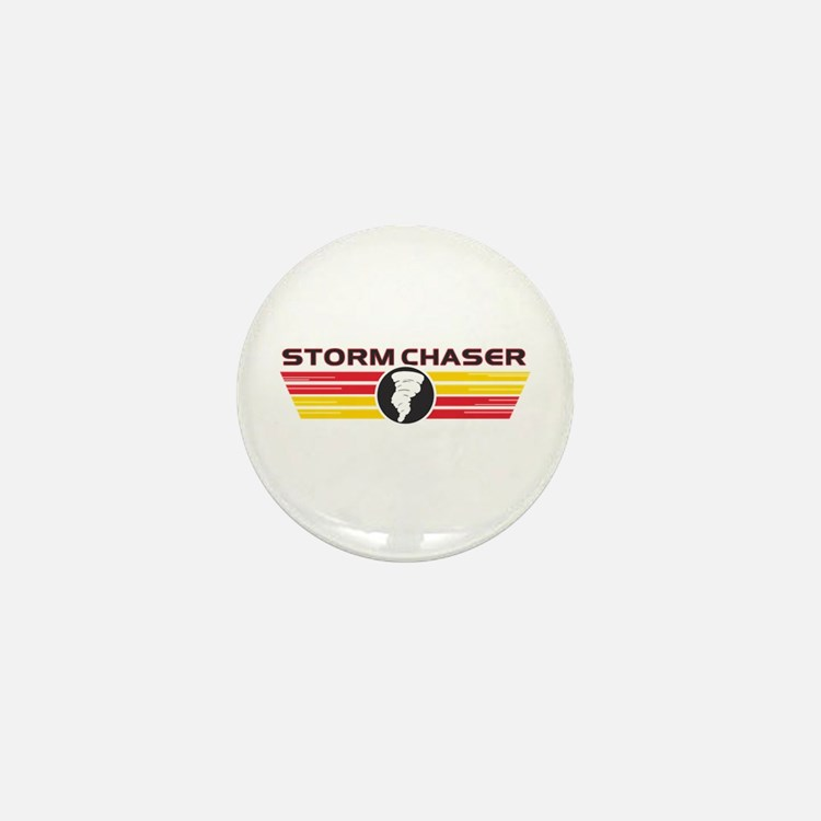 Storm Chasers Logo Bar Mini Button