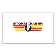 Storm Chasers Logo Bar Rectangle Decal