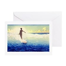 Hawaii Surfer Greeting Card