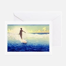 Hawaii Surfer Greeting Card