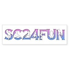 SC24FUN FAN LOGO Bumper Bumper Sticker