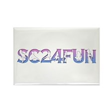 SC24FUN FAN LOGO Rectangle Magnet (10 pack)