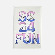 SC24FUN FAN LOGO Rectangle Magnet