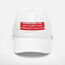 New World Order Baseball Baseball Cap