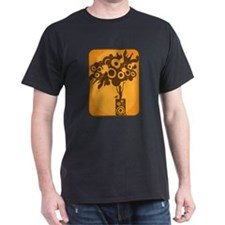 Funky Speaker Tree (Orange) T-Shirt
