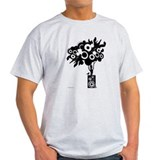 Tree speaker Mens Light T-shirts