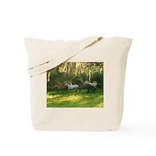horse herd Tote Bag