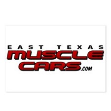 Cool Muscle car Postcards (Package of 8)