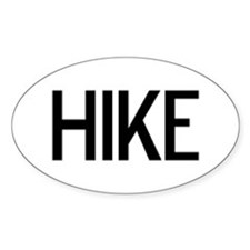 Hike - Euro Oval Decal