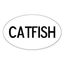 Catfish - Euro Oval Decal