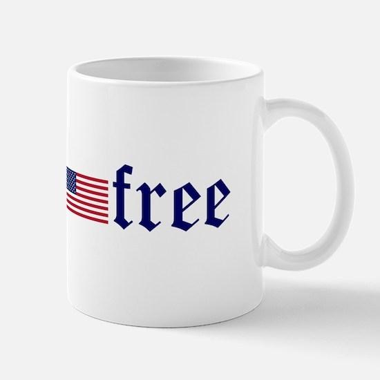 gluten-free (U.S. Flag) Mug
