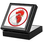 Rooster Circle Keepsake Box