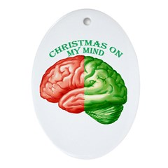 Christmas on My Mind Ornament