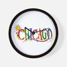Unique Kids chicago Wall Clock