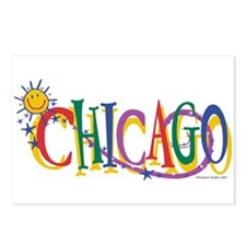 Cute Kids chicago Postcards (Package of 8)