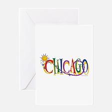 Unique Kids chicago Greeting Card