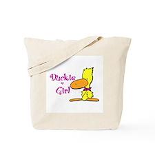 Duckie Girl Tote Bag