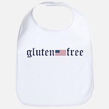 gluten-free (U.S. Flag) Bib