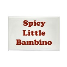 Spicy Little Bambino Rectangle Magnet