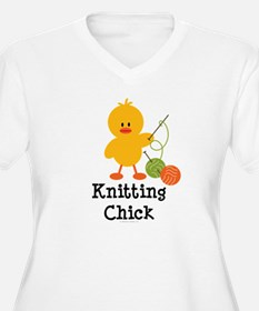 Knitting Chick T-Shirt