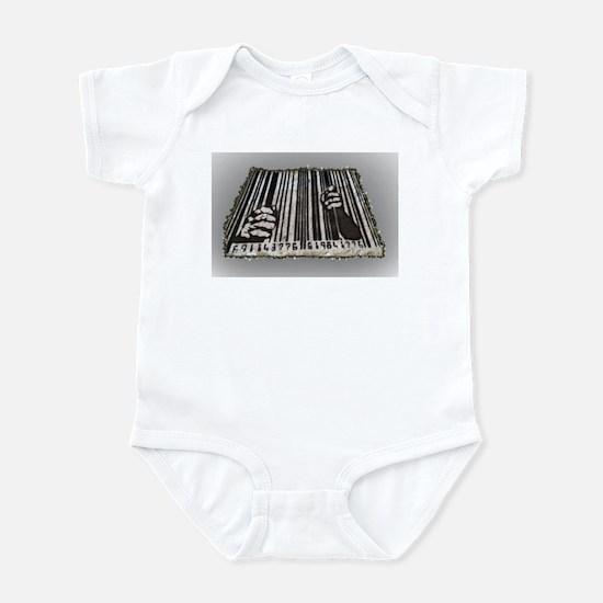 Prison Bar Code Infant Bodysuit