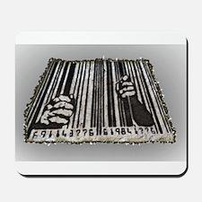 Prison Bar Code Mousepad