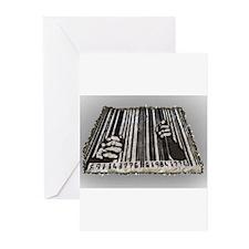 Prison Bar Code Greeting Cards (Pk of 20)