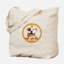 Pits for Peace Tote Bag