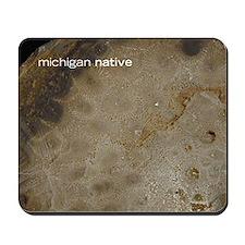 Petoskey Stone mousepad