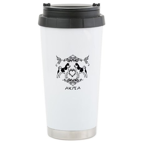 Akita Stainless Steel Travel Mug