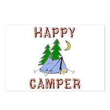 Happy Camper Postcards (Package of 8)