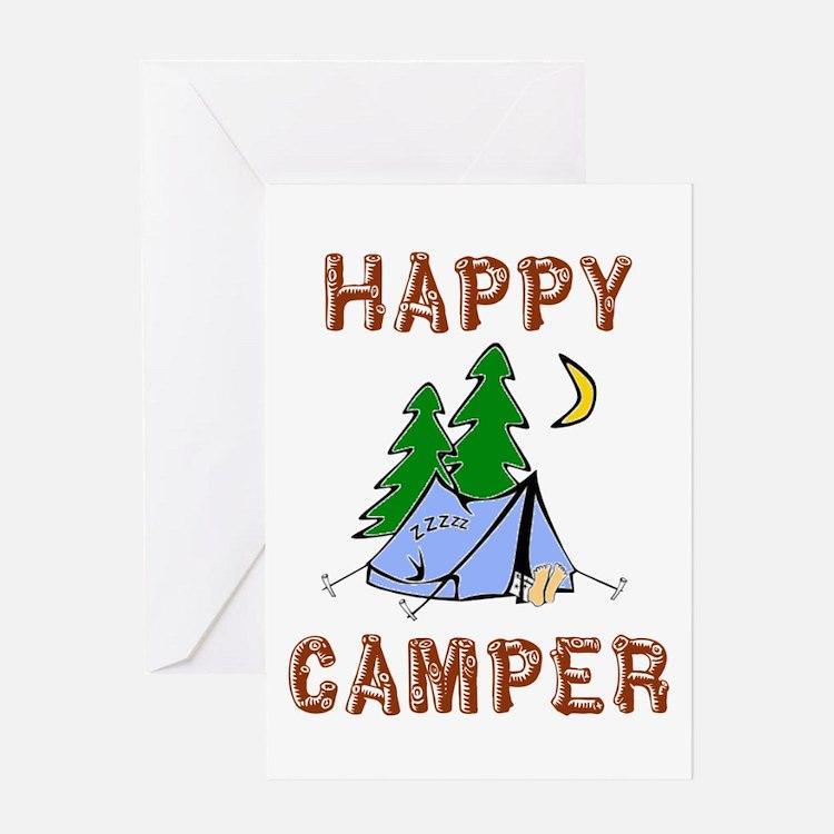 Happy Camper Greeting Card