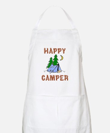 Happy Camper BBQ Apron