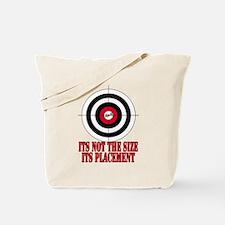 Target Practice Funny Tote Bag