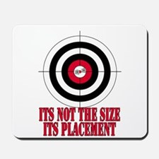 Target Practice Funny Mousepad