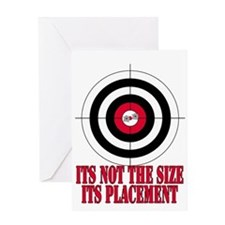 Target Practice Funny Greeting Card