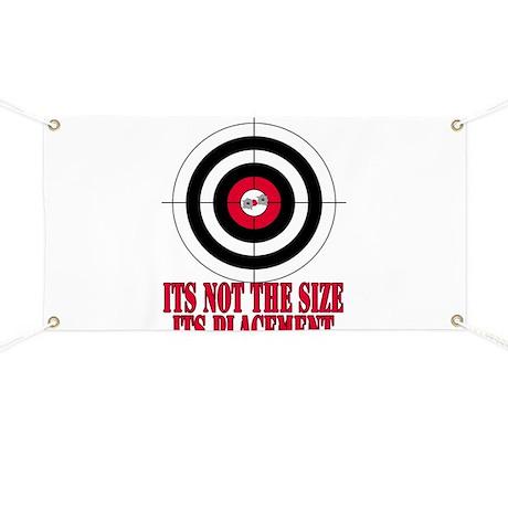 Target Practice Funny Banner