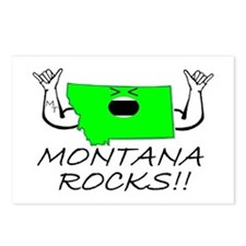 MONTANA ROCKS!! Postcards (Package of 8)