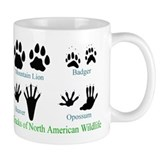 Animal tracks Drinkware