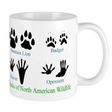 Animal Tracks Pawprints Coffee Mug
