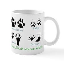 Animal Tracks Pawprints Small Mug