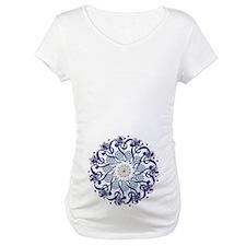 Blue Hendeca Mandala Shirt
