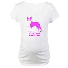 Pink Boston Terrier Shirt