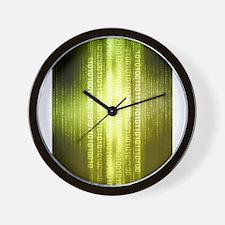 Matrix 1 Wall Clock